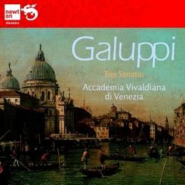 TRIO SONATAS ACCADEMIA VIVALDIANA DI VENEZIA Galuppi, CD
