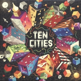 TEN CITIES 50 ELECTRONIC MUSIC PRODUCERS AND INSTRUMENTALISTS V/A, Vinyl LP
