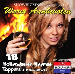 WARM AANBEVOLEN 18 HOLLANDSE TOPPERS EN 2 BONUS TRACKS V/A, CD
