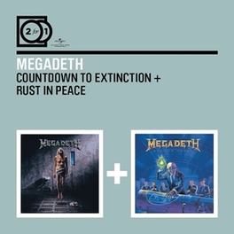 COUNTDOWN TO../RUST IN.. .. EXTINCTION //.. PEACE // *2FOR1* MEGADETH, CD