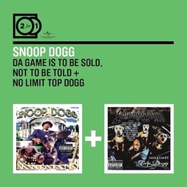 GAME IS TO BE SOLD.. /TO .. NO TO BE TOLD // *2FOR1* SNOOP DOGG, CD