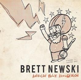 AMERICAN FOLK.. -LP+CD- .. ARMAGEDDON BRETT NEWSKI, Vinyl LP