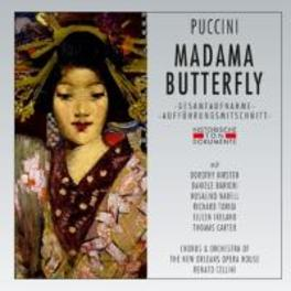 MADAMA BUTTERFLY 1960 NEW ORLEANS/RENATO CELLINI G. PUCCINI, CD