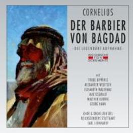 DER BARBIER VON BAGDAD 1939 STUTTGART/CARL LEONHARDT P. CORNELIUS, CD