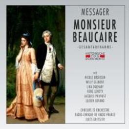 MONSIEUR BEAUCAIRE 1968 PARIS/JULES GRESSIER A. MESSAGER, CD