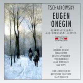 EUGEN ONEGIN 1962 MUNCHEN/JOSEPH KEILBERTH P.I. TCHAIKOVSKY, CD