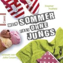 MEIN SOMMER FAST OHN.. .. JUNGS // DAGMAR HOSSFELD - AUDIOBOOK CONNI, CD