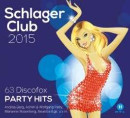 SCHLAGER CLUB 2015 63 DISCOFOX PARTY HITS/BEST OF V/A, CD