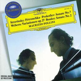 PETROUCHKA-SONATA NO.7 MAURIZIO POLLINI Audio CD, STRAVINSKY & PROKOFIEV, CD