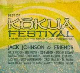 BEST OF KOKUA FESTIVAL JOHNSON, JACK & FRIENDS, CD