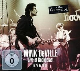 LIVE AT.. -CD+DVD- .. ROCKPALAST Mink DeVille, CD