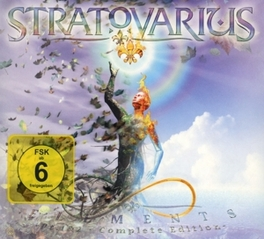 ELEMENTS PT. 1 & 2 -LTD- LIMITED EXPANDED EDITION (3CD+DVD) STRATOVARIUS, CD