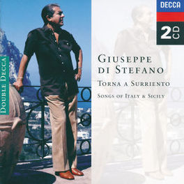 TORNA A SURRIENTO SONGS OF ITALY & SICILY. Audio CD, GIUSEPPE DI STEFANO, CD