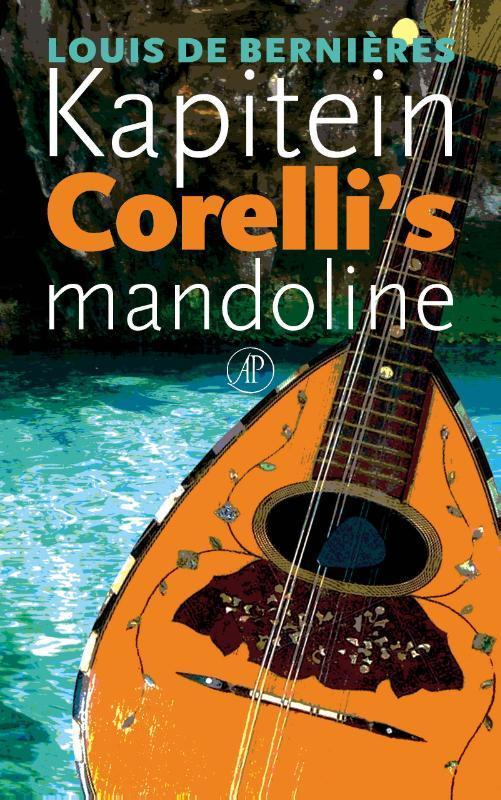Kapitein Corelli's mandoline roman, De Bernières, Louis, Paperback