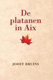 De platanen in Aix Joost Bruins, Paperback