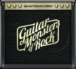 GUITAR MONSTERS OF ROCK FT. JIMMY PAGE, ERIC CLAPTON, JIMI HENDRIX, SLASH ... V/A, CD