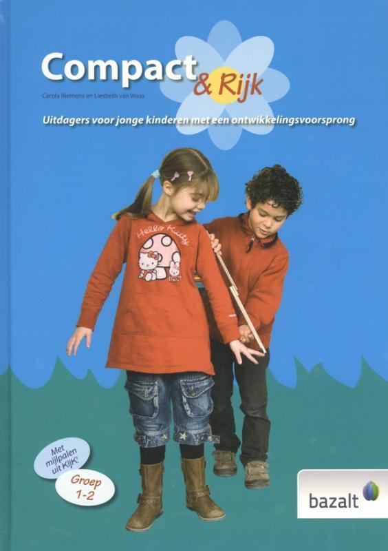 Compact en rijk Uitdagers voor jonge kinderen met een ontwikkelingsvoorsprong, Riemens, Carola, Hardcover