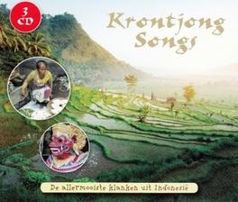 KRONTJONG SONGS V/A, CD
