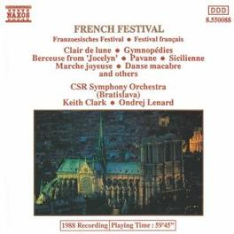 FRENCH FESTIVAL CZECHO-SLOVAK RSO/ONDREJ LENARD/KEITH CLARK V/A, CD