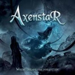 WHERE DREAMS ARE.. .. FORGOTTEN, SWEDISH POWER METAL AXENSTAR, CD