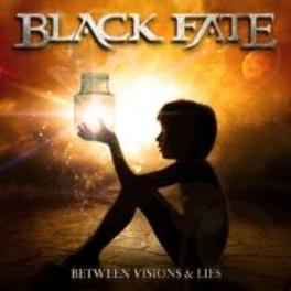 BETWEEN VISIONS & LIES METAL FOR FANS OF KAMELOT, SYMPHONY X BLACK FATE, CD
