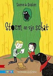 Storm en zijn schat Sanne de Bakker, Hardcover