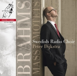 MASS & MOTETS -SACD- SWEDISH RADIO CHOIR/PETER DIJKSTRA J. BRAHMS, CD