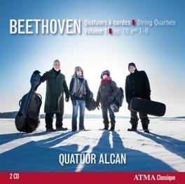 STRING QUARTETS OP.18 NO. QUATUOR ALCAN L. VAN BEETHOVEN, CD