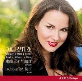 COLORATURE MUNGER, MARIE-EVE, CD