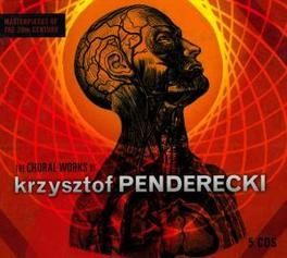 CHORAL WORKS *BOX* K. PENDERECKI, CD