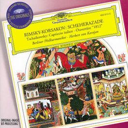 SCHEHERAZADE/CAPRICCIO IT W/BERLINER PHILHARMONIKER, HERBERT VON KARAJAN Audio CD, RIMSKY-KORSAKOV/TCHAIKOVS, CD