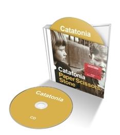 PAPER SCISSORS.. -CD+DVD- .. STONE, CD + DVD CASEBOUND BOOK EDITION CATATONIA, CD