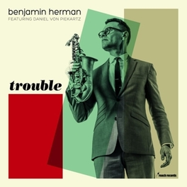 TROUBLE -COLOURED- 180GR./DOWNLOAD CARD/BONUS TRACK/500 CPS COLOURED VINYL BENJAMIN HERMAN, LP
