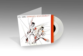 DIMINISHED RESPONSIBILITY 1981 ALBUM ON COLOURED VINYL + DOWNLOAD CARD U.K. SUBS, LP