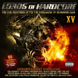 LORDS OF HARDCORE 15 V/A, CD