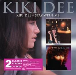 KIKI DEE/STAY WITH ME FT. BRECKER BROTHERS AND DAVID SANBORN KIKI DEE, CD