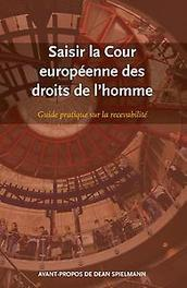 Saisir la cour européenne des droits de l'homme guide pratique sur la recevabilité, Paperback