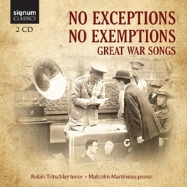 NO EXCEPTIONS NO EXEMPTIO MALCOLM MARTINEAU ROBIN TRITSCHLER, CD
