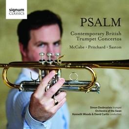 PSALM, CONTEMPORARY BRITI ORCHESTRA OF THE SWAN/MCCABE/PRITCHARD/SAXTON SIMON DESBRUSLAIS, CD