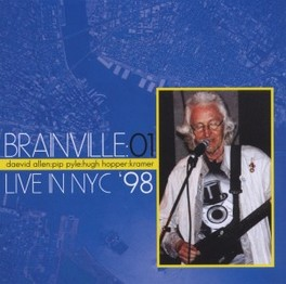BRAINVILLE AT THE KNITTIN ..KNITTING FACTORY Audio CD, DAEVID ALLEN, CD