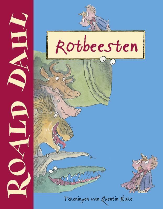 Rotbeesten Jubileumeditie, Roald Dahl, Hardcover