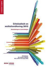 Criminaliteit en rechtshandhaving  2013 ontwikkelingen en samenhangen, Paperback