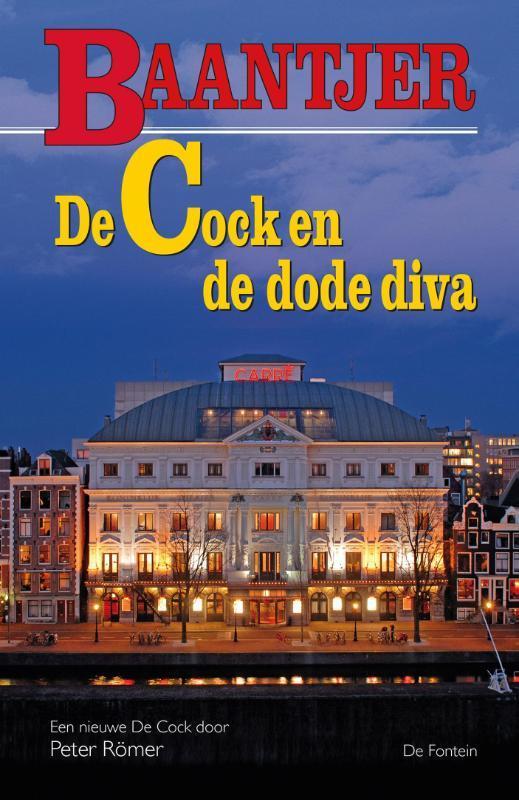 De Cock en de dode diva Baantjer, Baantjer, A.C., Paperback
