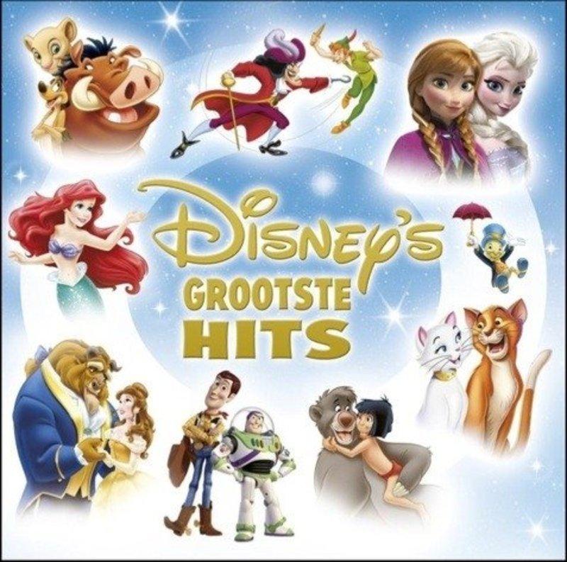 DISNEY'S GROOTSTE HITS DISNEY FILMHITS IN VLAAMSE VERSIE V/A, CD