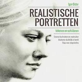 Realistische portretten tekenen en schilderen Oster, Igor, Hardcover