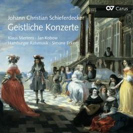 SACRED CONCERTS MERTENS/KOBOW/HAMBURGER RATSMUSIK J.C. SCHIEFERDECKER, CD