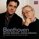 COMPLETE WORKS FOR CELLO W/ADRIAN & ALFRED BRENDEL