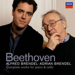 COMPLETE WORKS FOR CELLO W/ADRIAN & ALFRED BRENDEL Audio CD, L. VAN BEETHOVEN, CD