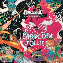HARDCORE JOLLIES -HQ- IN A REPLICA GATEFOLD SLEEVE FUNKADELIC, LP