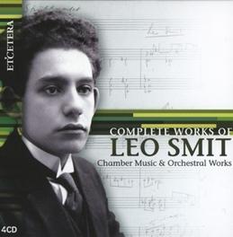 COMPLETE WORKS OF LEO.. NETHERLANDS P.O./ENTREMONT/SPANJAARD/VIERSEN/VIS/RAISKI L. SMIT, CD